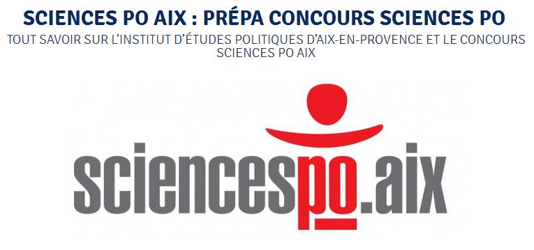 Cours Thalès propose des stages de prépa concours Sciences Po Aix-en-Provence