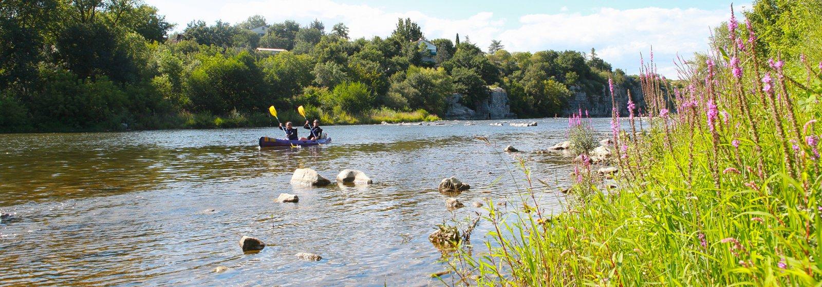 La Grand Terre : le camping au cœur de l'Ardèche
