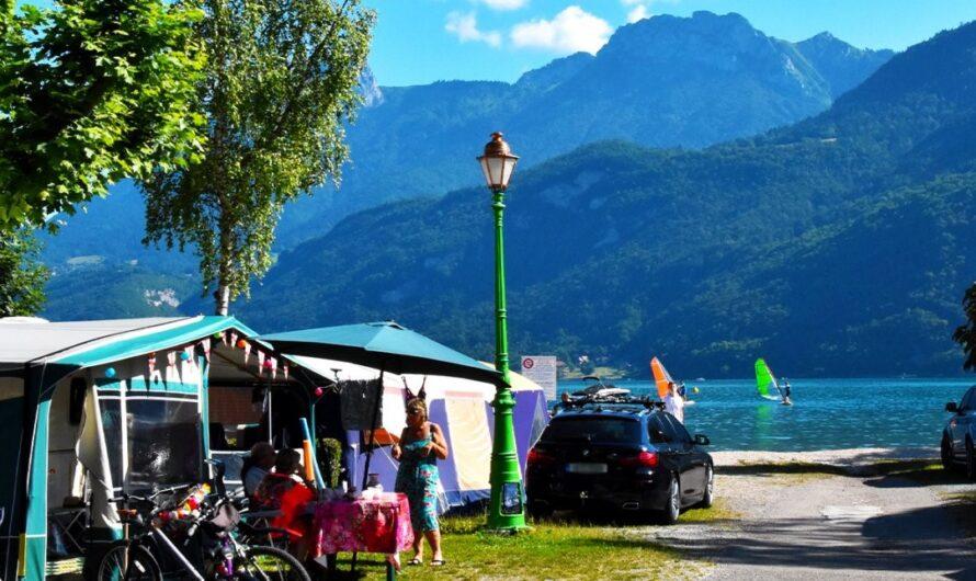 Séjours au Lac Bleu (Annecy) : nature et sports pour tous (eau, ciel, terre….) !